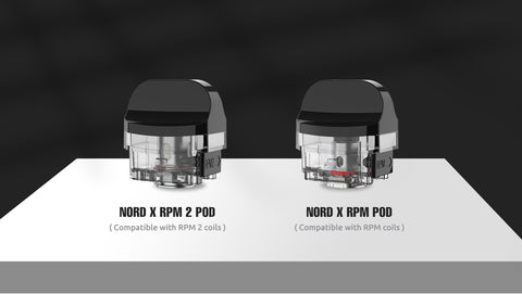 Smok Nord X Replacement Pod - 3 Pack [RPM 2]