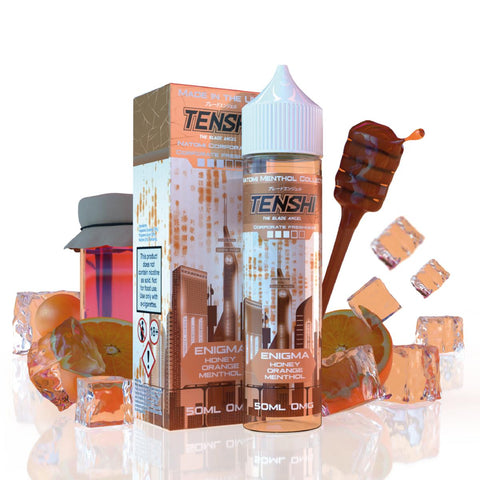 Tenshi Vapes - 50ml - Enigma Honey Orange Menthol