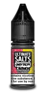 Ultimate Salts Candy Drops - Lemonade & Cherry - 20mg