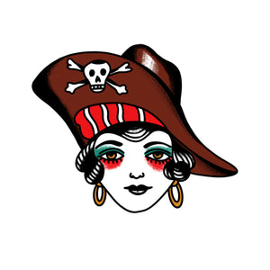 Idle Hand Pirate Temporary Tattoos