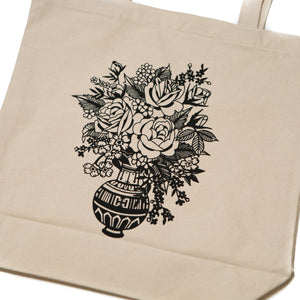 Dead Flowers Tote Bag