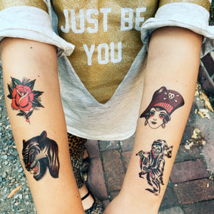 Idle Hand Mother Temporary Tattoos