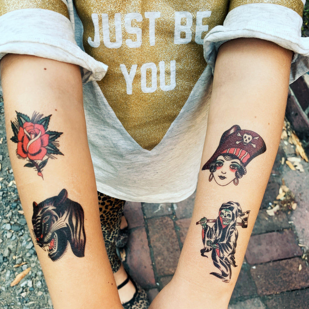 Idle Hand All 6 Temporary Tattoos