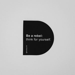 The Rebel Sticker