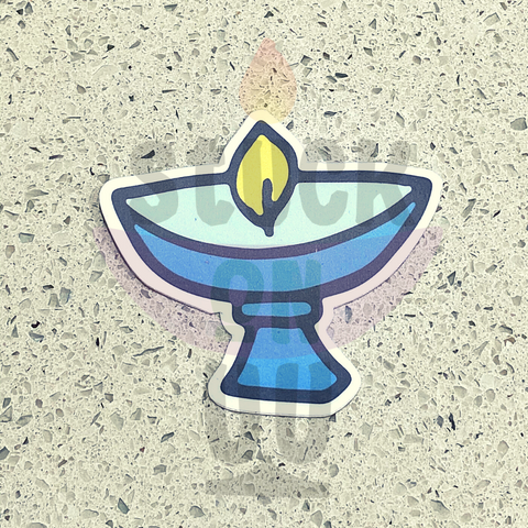 Blue Chalice Sticker