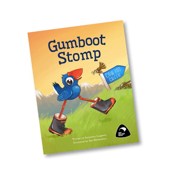 Gumboot Stomp Book
