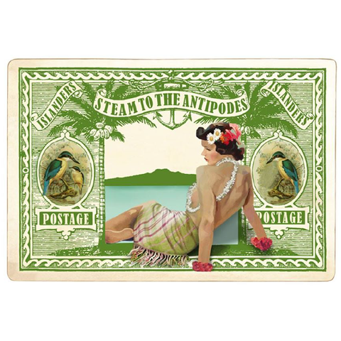 Antipodes Stamp - Green