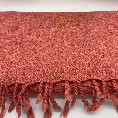 Merino Wrap Rose Madder