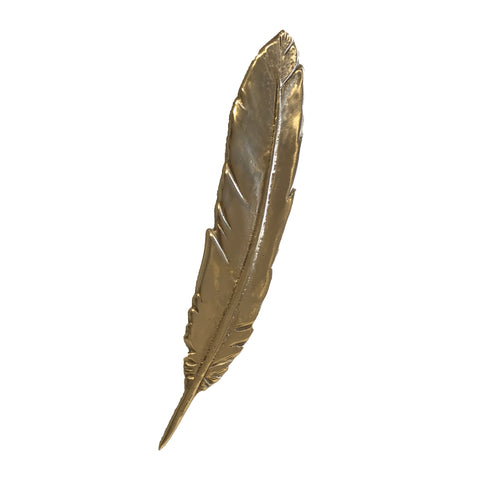 Parihaka Feather - Polished Bronze