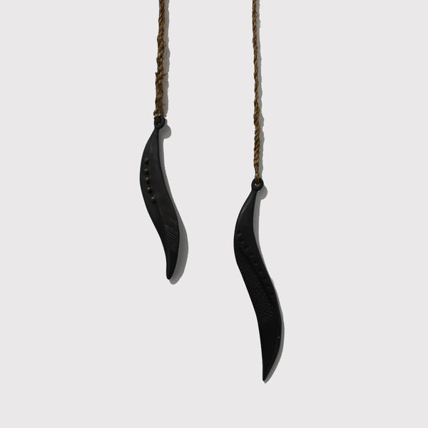 Seed Pods - Hanging Bronze