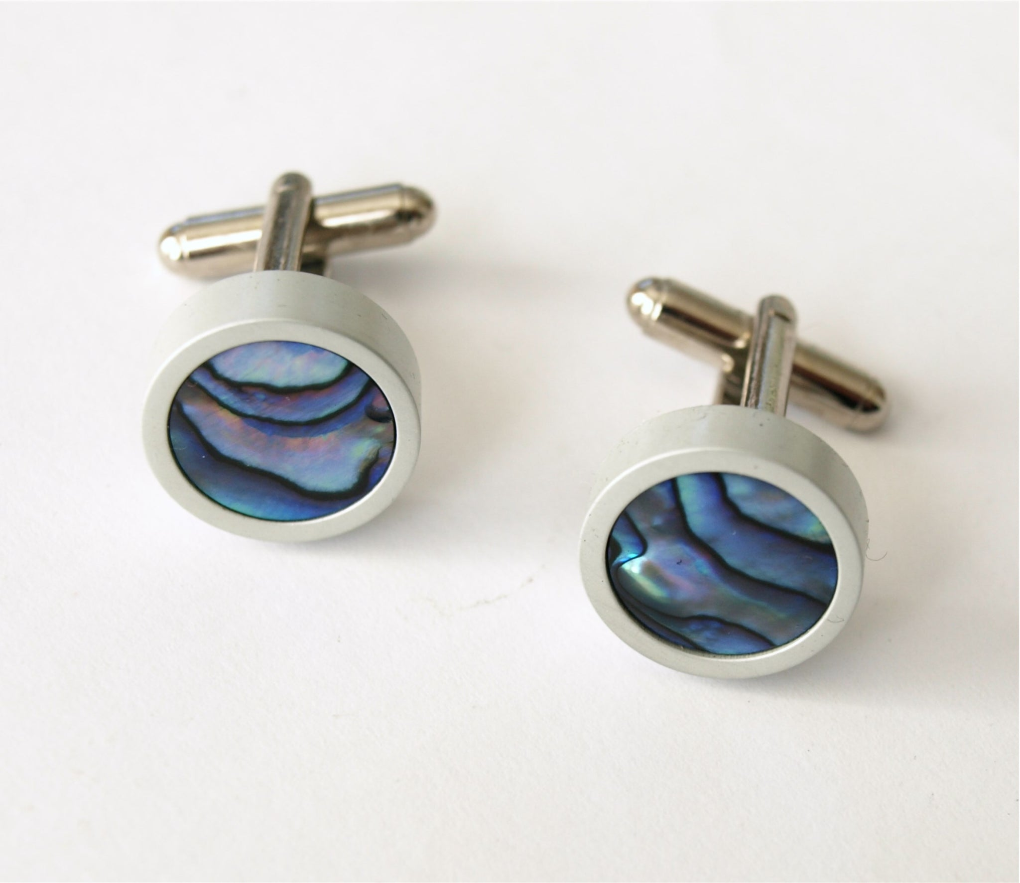 Cufflinks - Paua Shell
