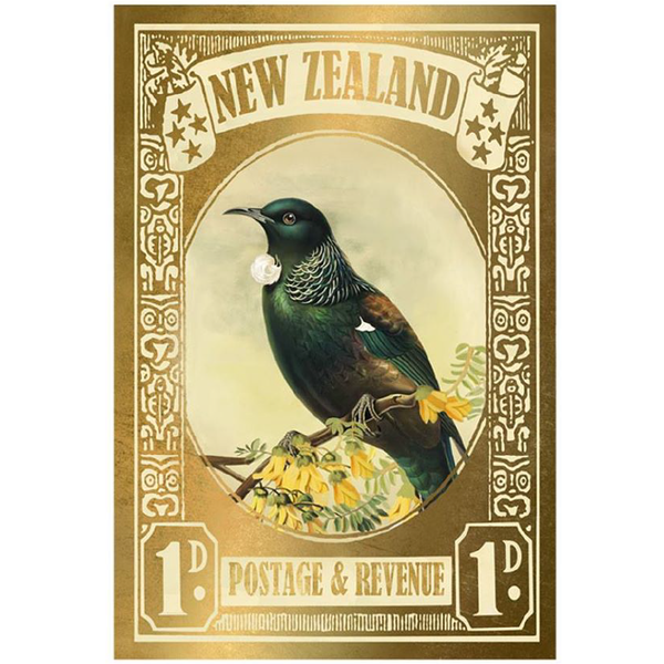 Tui Stamp - Gold