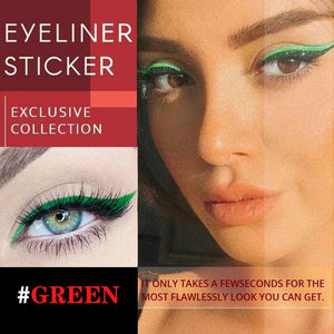 🔥BUY 1 GET 1 FREE🔥Reusable Eyeliner Stickers(20 Pairs/40 Pcs)