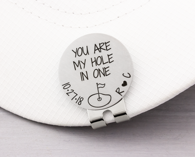 I Love You More Than You Love Golf Ball Marker and Hat Clip