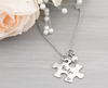 Bridesmaid Puzzle Name Necklace - Heartfelt Tokens