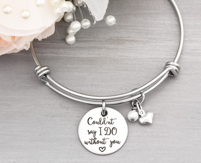 Couldn't Say I Do Bangle Bracelet - Heartfelt Tokens