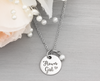 Flower Girl Necklace Wedding Party Gift - Heartfelt Tokens