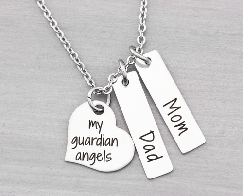My Guardian Angels Remembrance Necklace