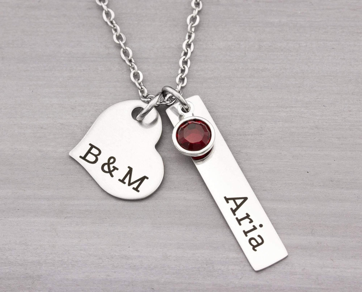 Personalize Name Jewelry - Custom Jewelry for Her - Couples Necklace - Personalized Mom Necklace - Gifts for Her Personalized Jewelry