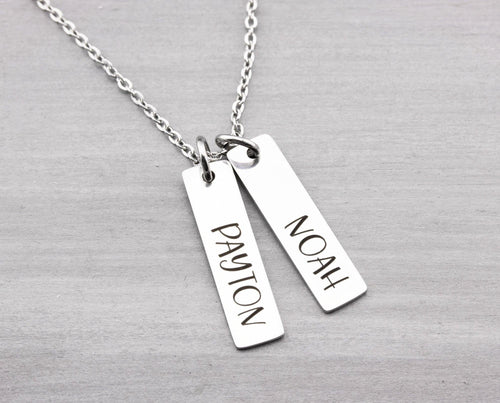 Kids Name Necklace - Personalized Jewelry - Custom Name Necklace - Personalized Name Necklace - Mom Jewelry