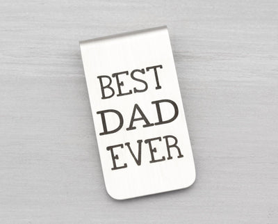 Money Clip Personalized - Custom Money Clip Engraved - Personalized Gift for Dad - Personalized Fathers Day Gift - Custom Gifts for Men