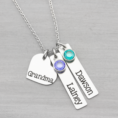 Custom Name Necklace Gift for Her - Heartfelt Tokens