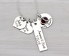 Personalized Family Charm Mothers Necklace - Heartfelt Tokens