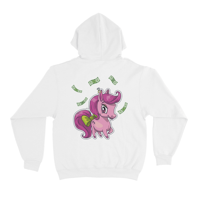 LITTLE BOSS BITCH Hoodie Kids <br>White - Famke-Louise-Merchandise