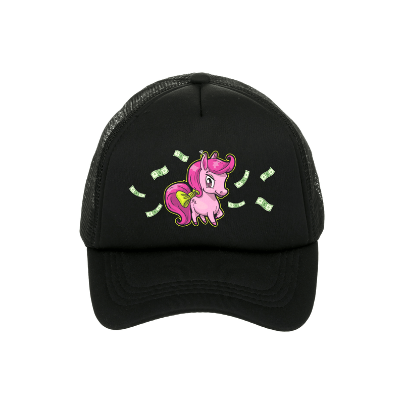 LITTLE BOSS BITCH trucker cap <br>Black - Famke-Louise-Merchandise