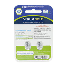 Load image into Gallery viewer, Verum Gold CBD Sample Pack - back side