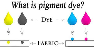 What is pigment dye?