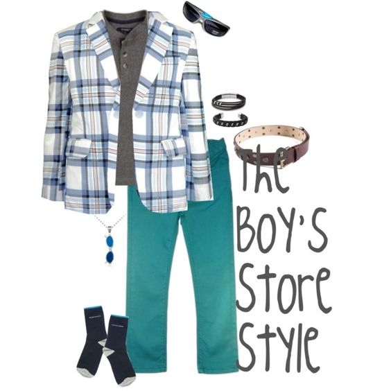 Boys Teal Outfit Compilation