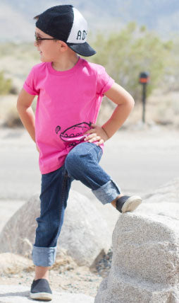 Boys Graphic Tee by Quirkie Kids