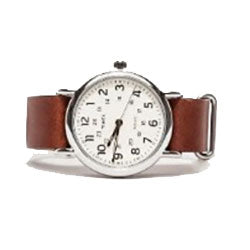 Boy's Wrist Watch with Leather Band