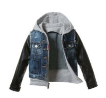 Boys Layered Denim Jacket