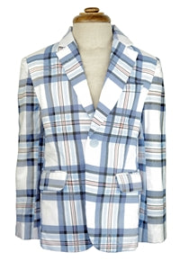 Boys Plaid Blazer