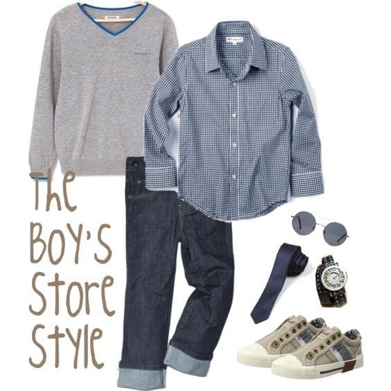 Boys Sweater Chic Outfit