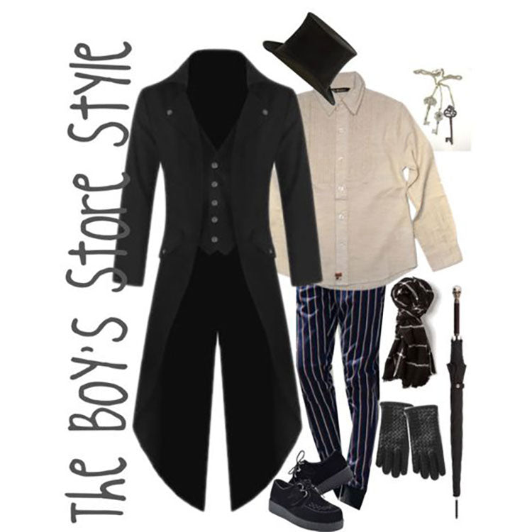 Monochrome Night Out Boy's Outfit Compilation