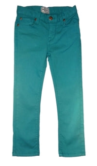 Boys Teal Denim Pants