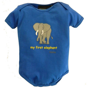 Baby Boys' My First Elephant One Piece by Teaching Togs