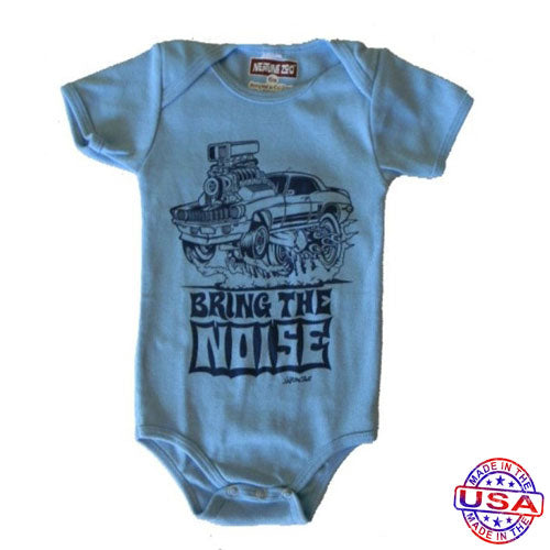 Baby Boys' Bring The Noise Bodysuit by Neptune Zoo