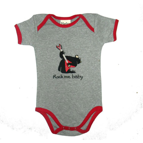Baby Boy Bear Rocks One Piece by Hatley - The Boy's Store