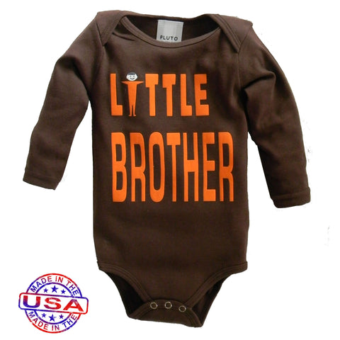 Boys' Little Brother Brown One Piece by Pluto