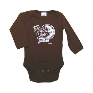 Baby Boys' Sleepless Nights Motel One Piece by Neptune Zoo