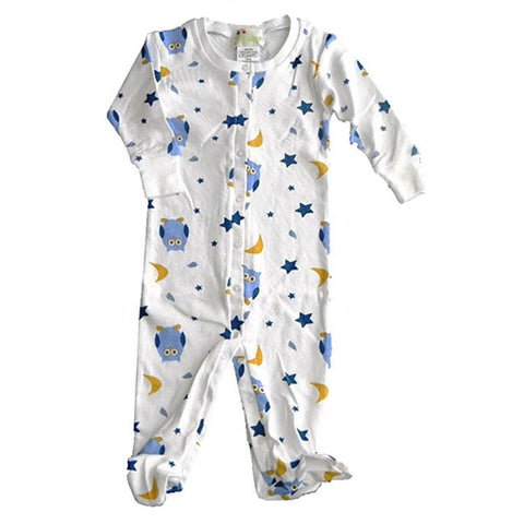 Baby Boys Night Owl Footie Pajamas by New Jammies - The Boy's Store