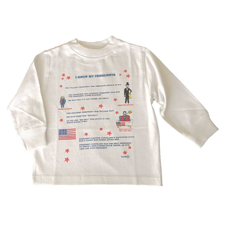 Toddler Boys' Presidents Shirt by Teaching Togs