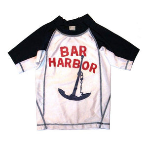 Little Boys' Bar Harbor Rashguard by Wes and WIlly