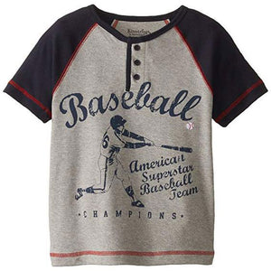Boys' Baseball Graphic Shirt by Kitestrings