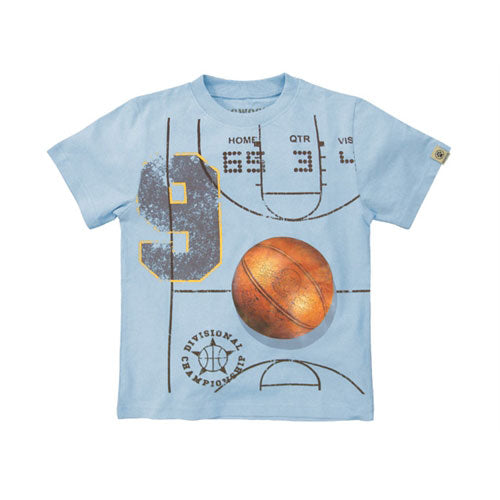 Boys Basketball Court Shirt by Dogwood