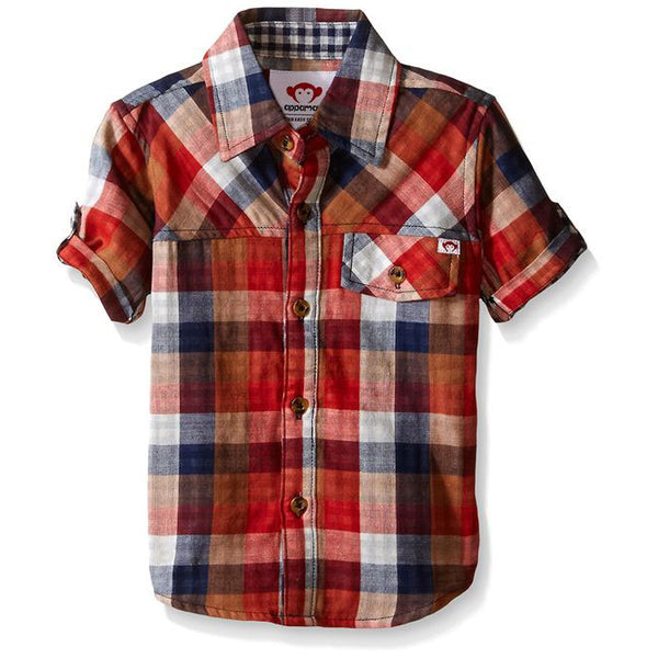 Boys Harvey Plaid Shirt by Appaman